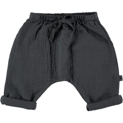 Pantalón bebé algodón gris oscuro SERIE SENA