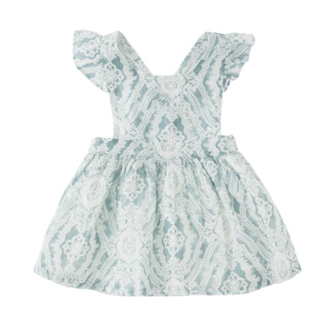 Vestido niña tirantes mental BANDANA DRESS