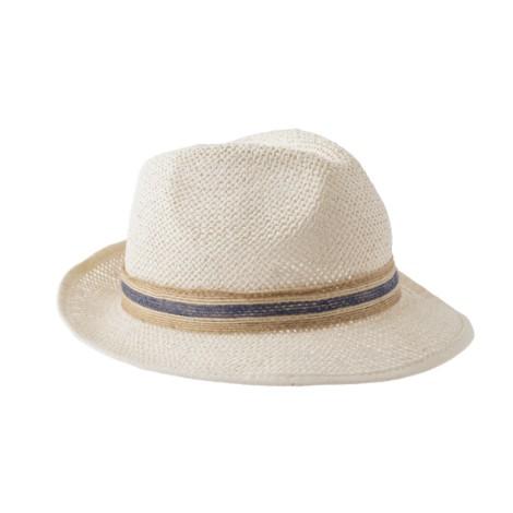 Sombrero infantil NIÑO verano cinta azul STROW HAT 1