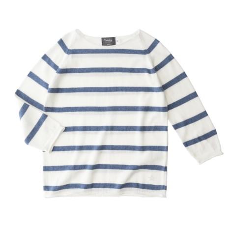 Jersey de rayas AZUL infantil algodón STRIPPED SUMMER