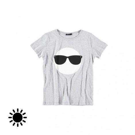 Camiseta infantil SUNGLASSES SOLAR (MELANGE)
