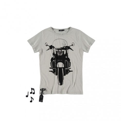 Camiseta infantil sonido TOURING (SAND)