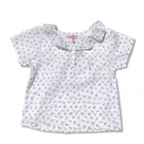 Camisa niña LEA (FLYING BIRDS) M/C