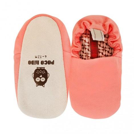 Zapatitos bebé rosa coral mini shoes