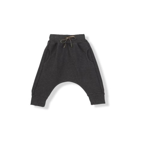 Pantalón bebé ancho ADRIAN antracita bolsillos