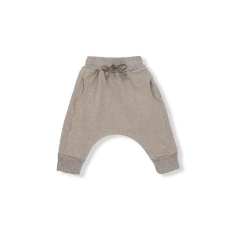 Pantalón bebé ancho ADRIAN beige bolsillos