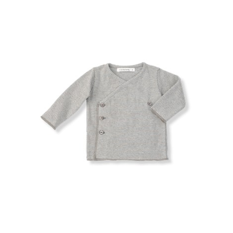 Camiseta jubón primera puesta ALBA rayitas agua