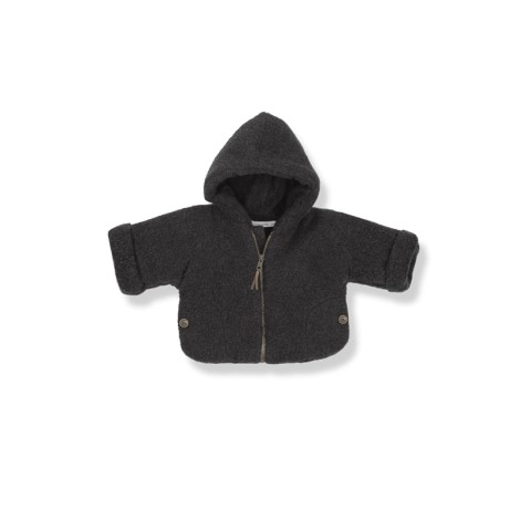 Chaqueta bebé polar ALDO antracita. Marca  1+IN THE FAMILY 876a9ee21cf