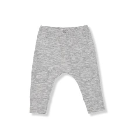 Pantalón bebé rodillera ALEXIS gris claro