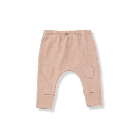 Pantalón bebé ALVAR rosa rodilleras
