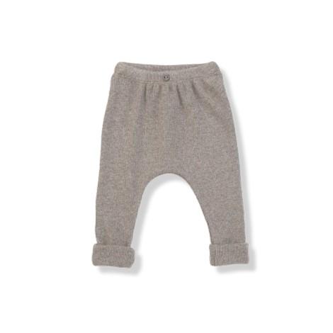 Pantalón bebé MARTIN beige canalé 2x1