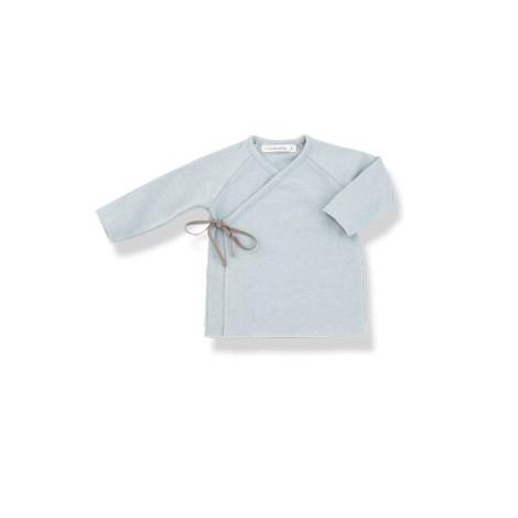 Camiseta bebé jubón lazo MYLA agua