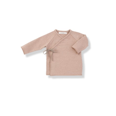Camiseta bebé jubón lazo MYLA rosa