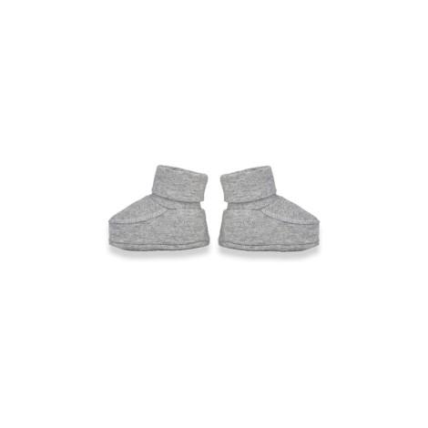 Calcetines patucos bebé NIN gris