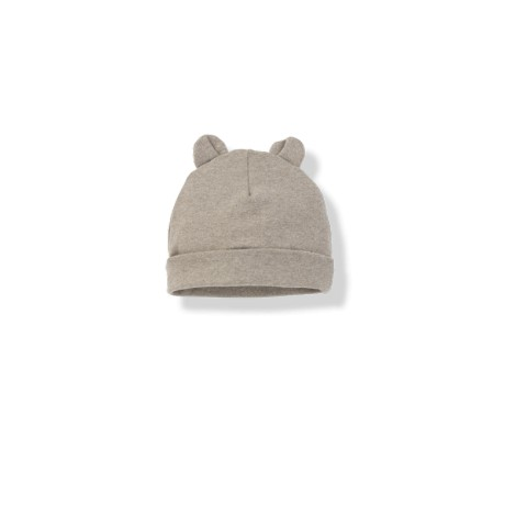 Gorro bebé con orejas SUNE beige