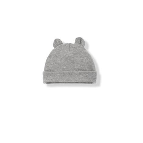 Gorro bebé con orejas SUNE gris