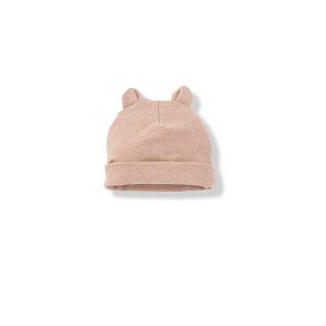 Gorro bebé con orejas SUNE rosa