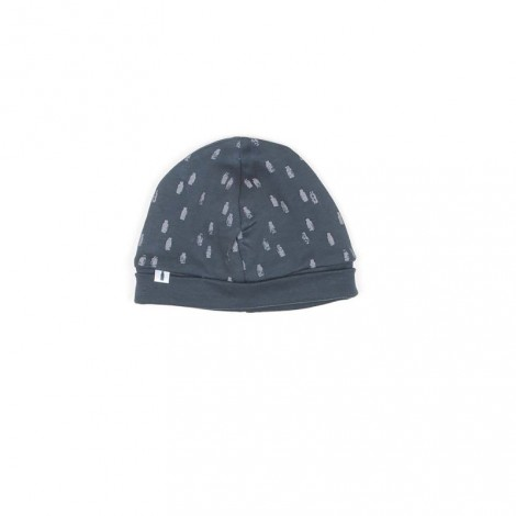 Gorro bebé CHRIS METALLIC BLUE