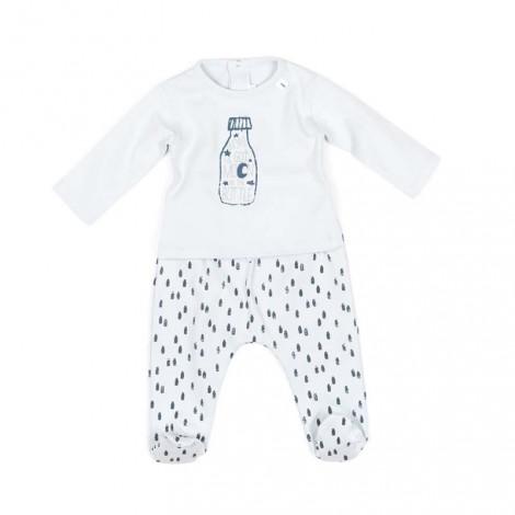 Pijama bebé ORLANDO azul suave