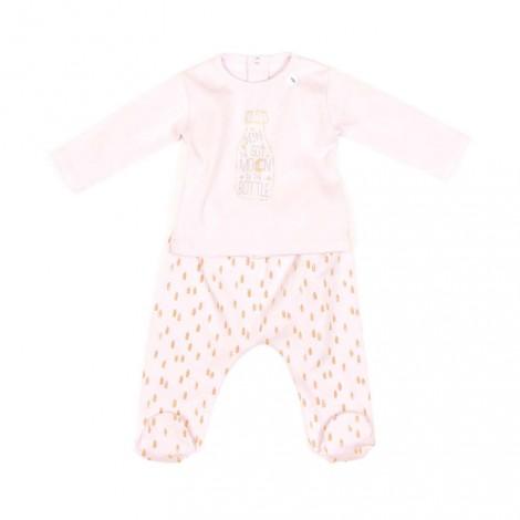 Pijama bebé ORLANDO rosa palo