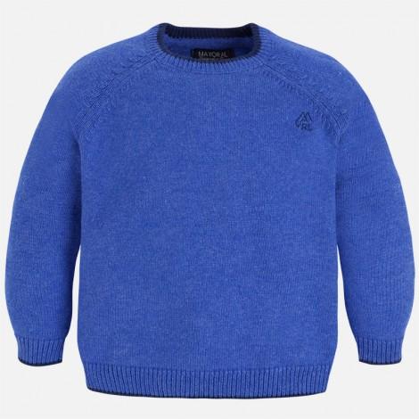 Jersey niño c/redondo básico color Lavanda