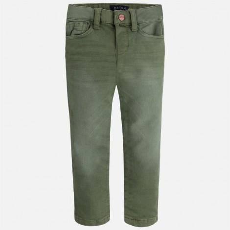 Pantalón soft niño color Bambú