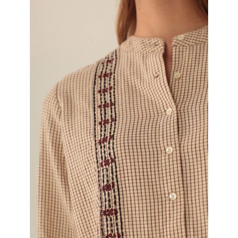 "Camisa túnica niña ""SMALL CHECKS"""