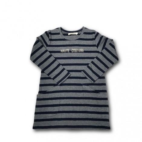 Vestido niña HAUTE COUTURE tricot algodón