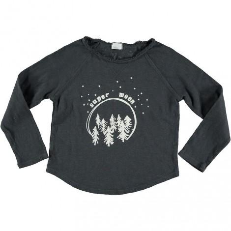 Camiseta infantil LOU SUPER MOON nuit