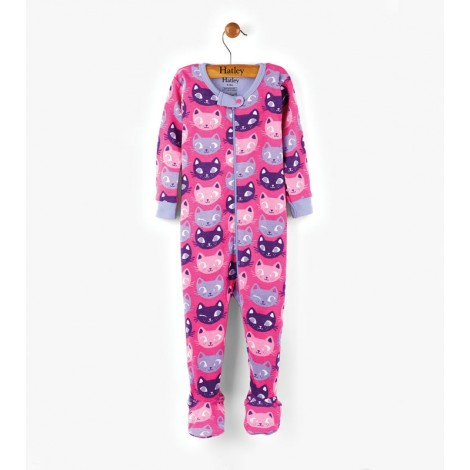 Pijama bebé SILLY KITTES entero pie orgánico