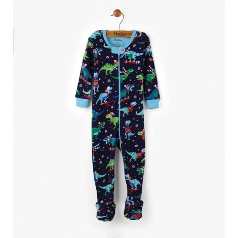 Pijama bebé SPORT T-REX entero pie orgánico