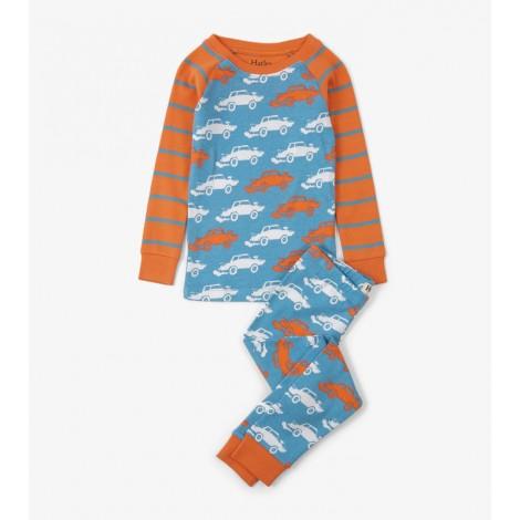 Pijama niño DERBY CARS 2 piezas orgánico