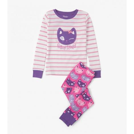 Pijama niña SILLY KITTES 2 piezas orgánico