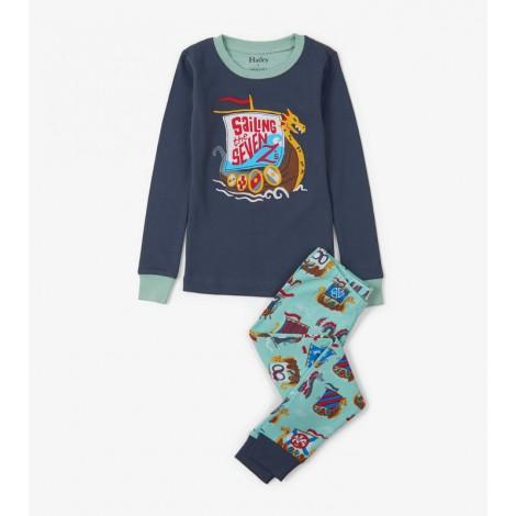 Pijama niño VIKING & FOES 2 piezas orgánico