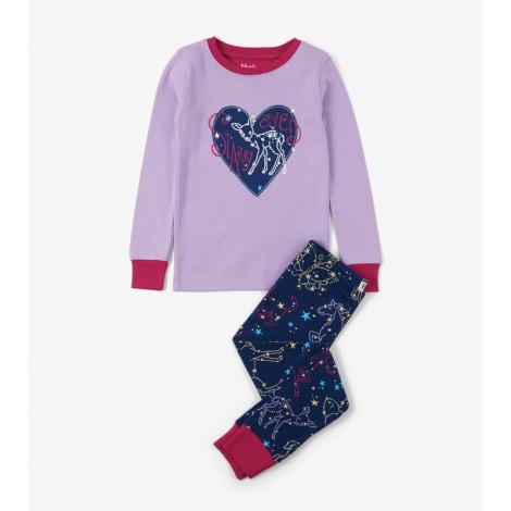 Pijama niña CELESTIAL NIGHT 2 piezas orgánico
