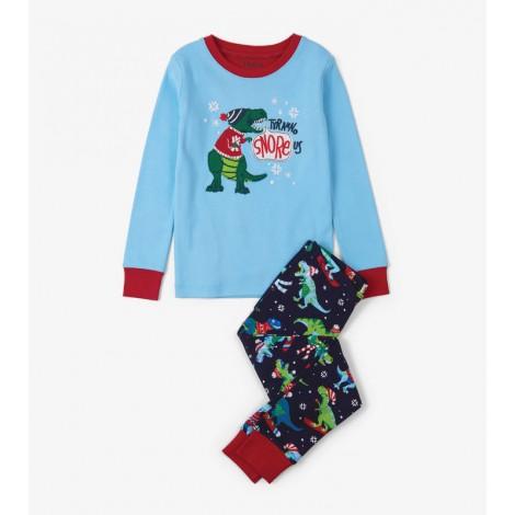 Pijama niño SPORTS T-REX 2 piezas orgánico