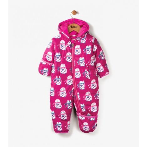 Buzo bebé plumón capucha COZY PENGUIN