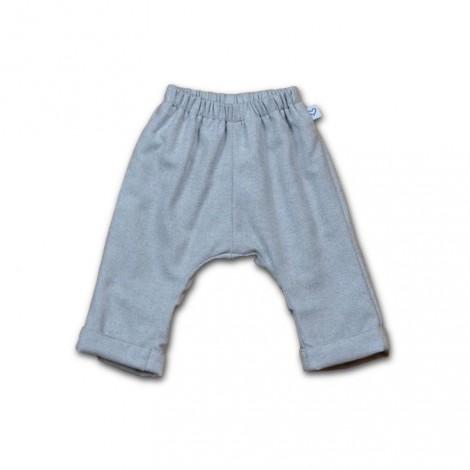 Pantalón bebé felpa gris
