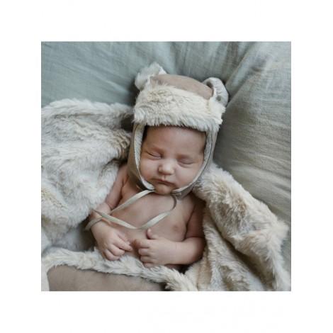 Gorrito OSITO eskimo de Babyshower