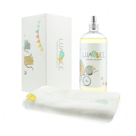 Caja pack muselina y colonia Lua & Lee de 500ml