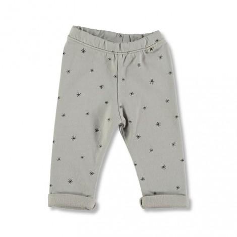 Pantalón bebé LEGGING ETOILES gris estrellitas