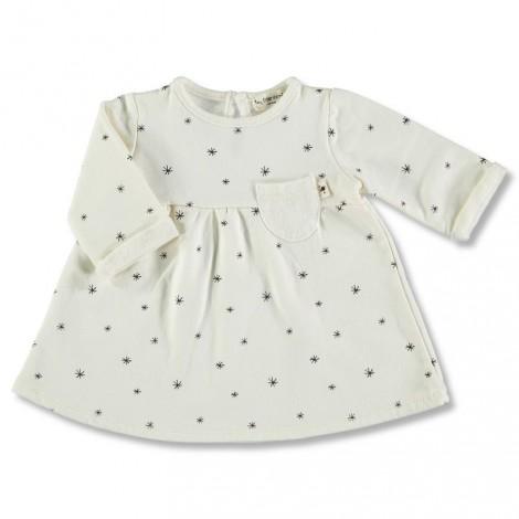Vestido bebé ETOILES IVORY marfil