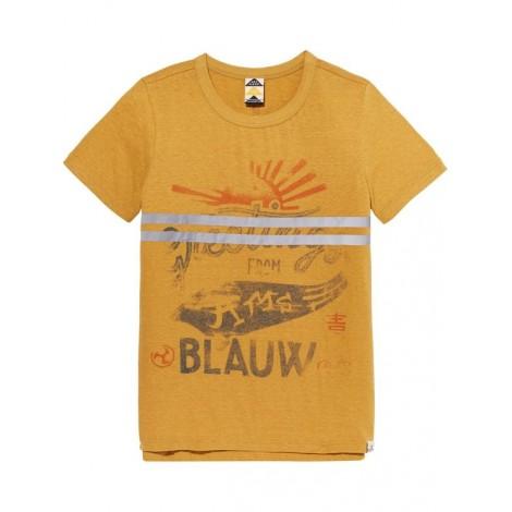 Camiseta niño M/C gold souvenir BLAUW