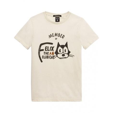 Camiseta niño M/C CRUDO El Gato Félix