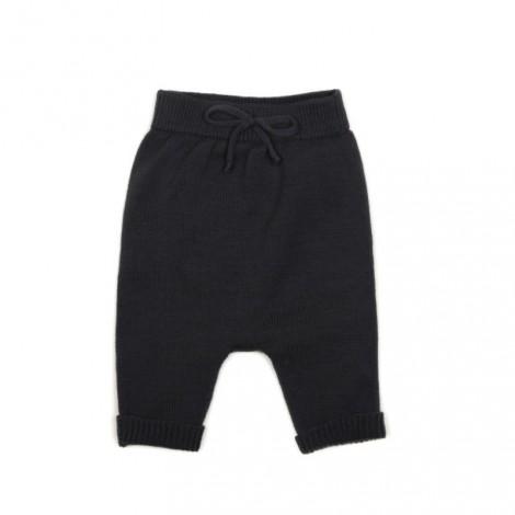 Pantalón bebé tricot (conjunto) en PLUMB