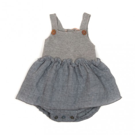 Vestido body bebé en SHINYFUME