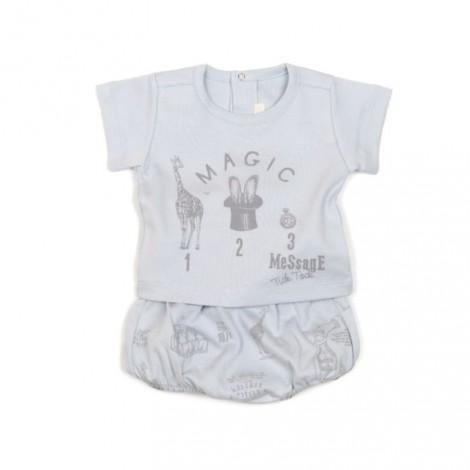 Conjunto bebé ranita + camiseta en BLUENUDE