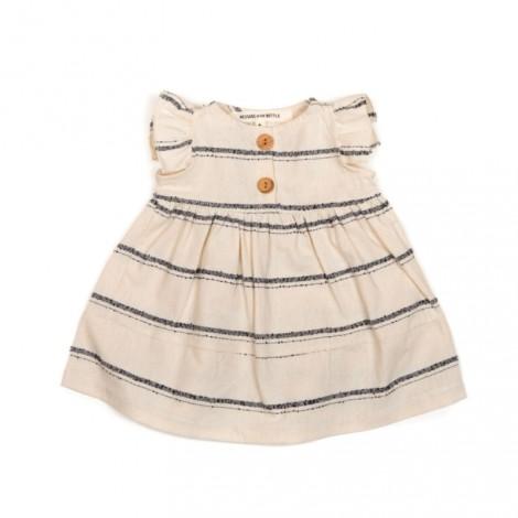 Vestido bebé (conjunto) en NATURAL