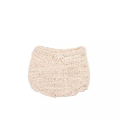 Ranita bebé tricot en NATURAL