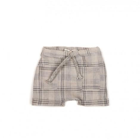 Pantalón corto bebé en RUSTICGREY